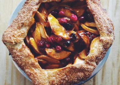 Deercrest Farms Apple and Cranberry Crostatas
